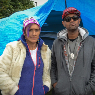City camp, site of Native homelessness, heroin and hope