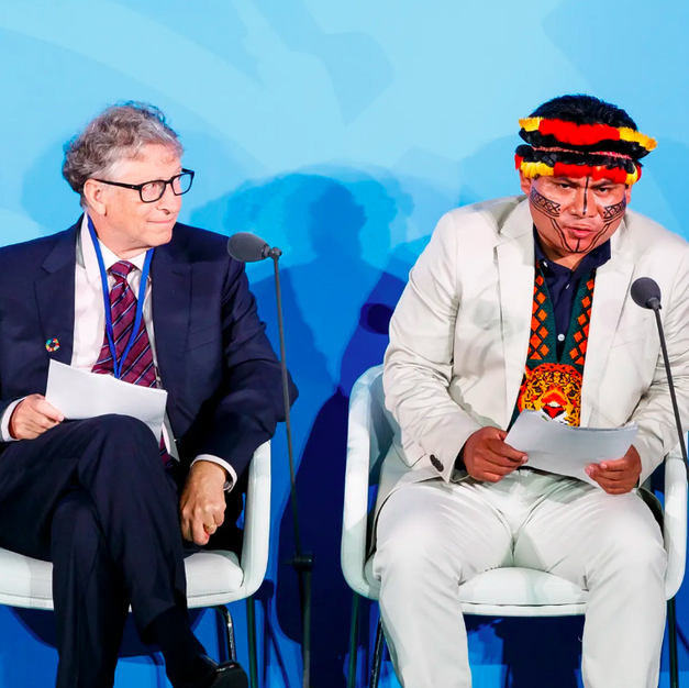 Indigenous rep. joins UN climate summit: 'They need us'