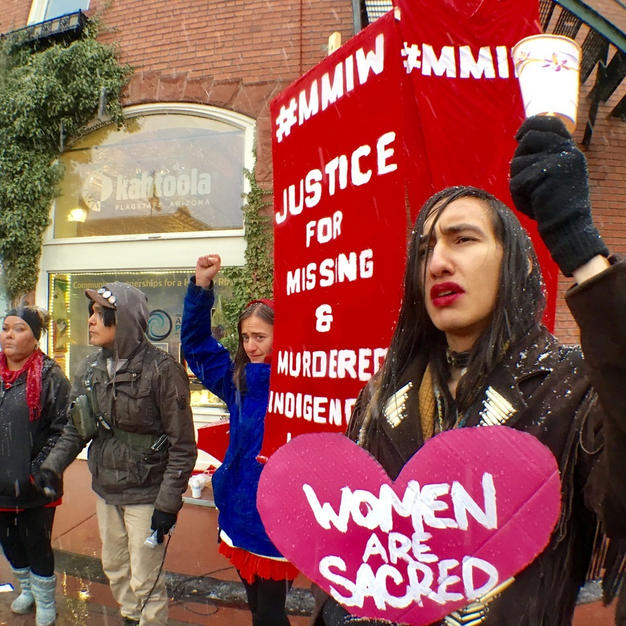 Valentine's Day a Day for #MMIWG Action