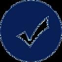 WC Checks icon Transparent blue.png
