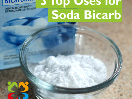 3 top uses for Soda Bicarb