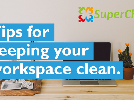 Tips for keeping your workspace clean