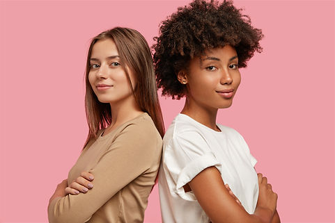 confident-young-mixed-race-women-stand-b