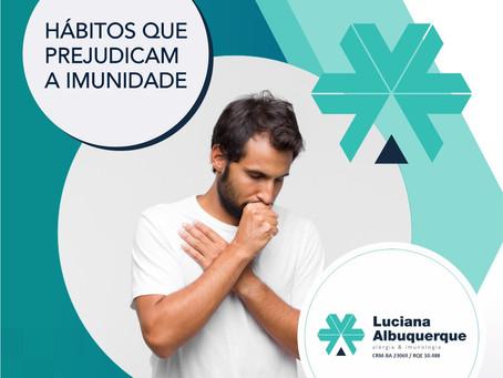 Hábitos que prejudicam a Imunidade