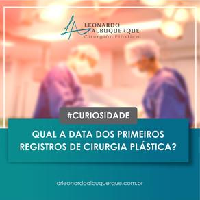 A História da Cirurgia Plástica.