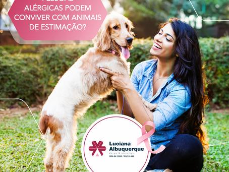 Pessoas Alérgicas podem conviver com Animais de Estimação?