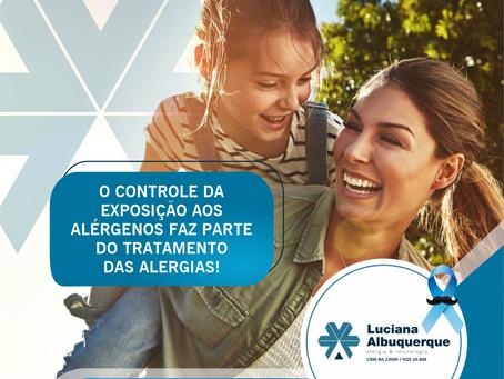 O Controle Exposição Aos Alérgenos Faz Parte do Tratamento.
