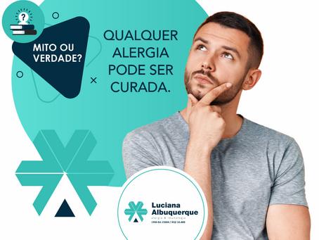 Qualquer Alergia pode ser curada?