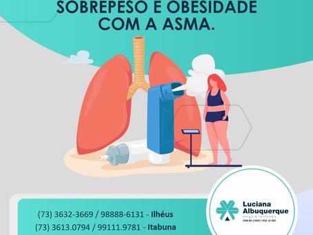 A relação entre Sobrepeso e Obesidade com a Asma.