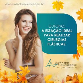 Outono: a estação ideal para realizar cirurgias plásticas.