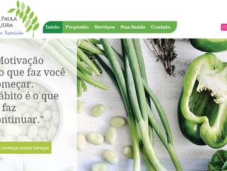 Mais que Nutrição: slogan, marca, site e redes sociais com um mesmo propósito