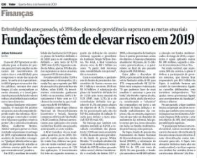 Estratégia de investimento da FAPES em entrevista ao Valor Econômico