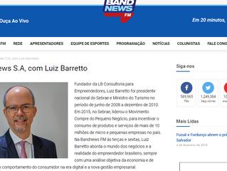 Há 6 meses na Band, Luiz Barretto fomenta a inovação nos negócios