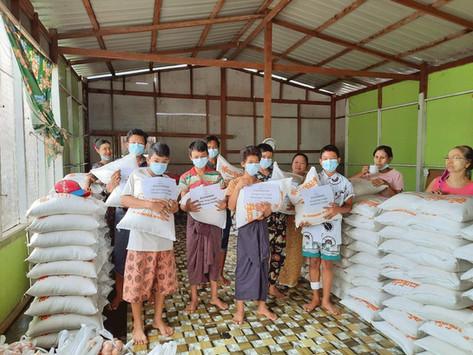 救助印度寺院和緬甸人民籌款計劃