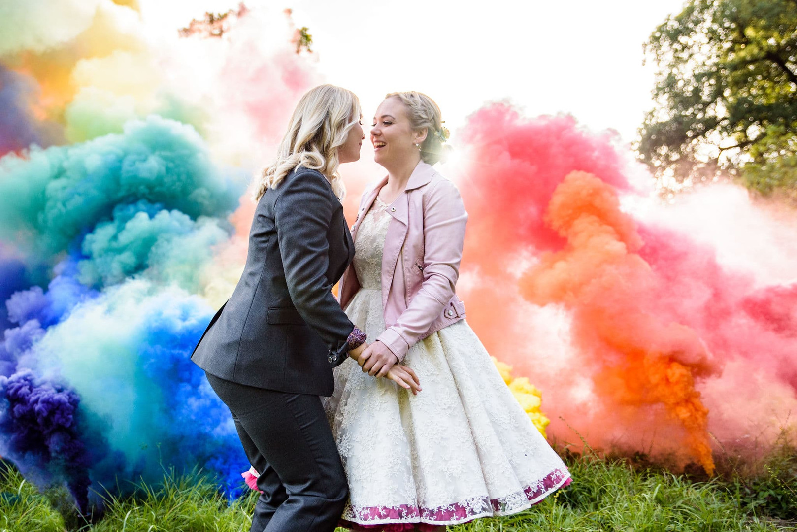 LGBT Wedding Photographer West Sussex Ha