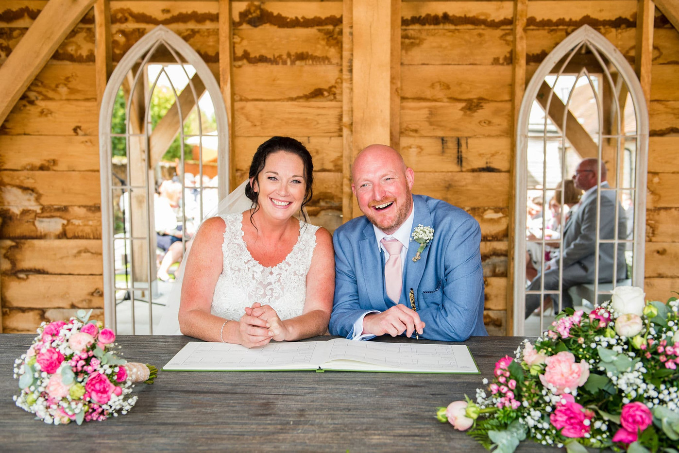 Southend Barns Wedding Photography Chich