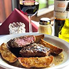 Steak Vesuvio