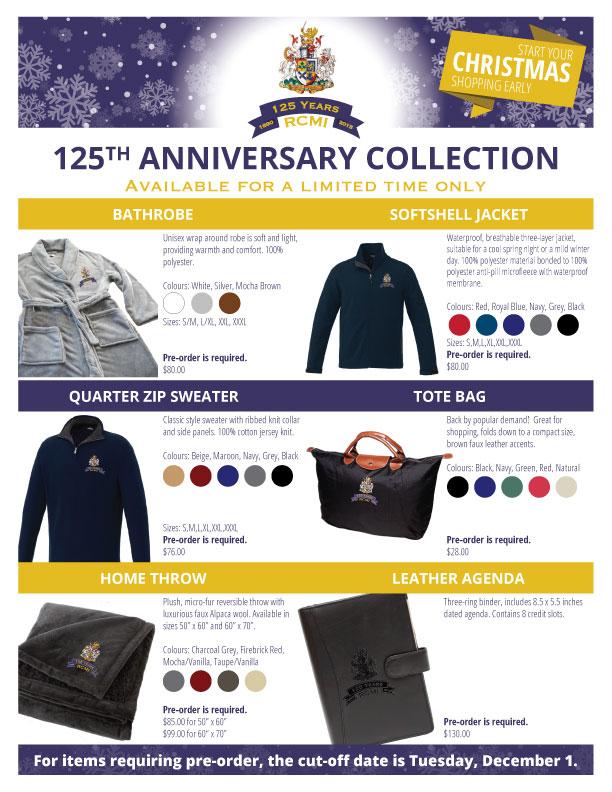 RCMI gift catalogue