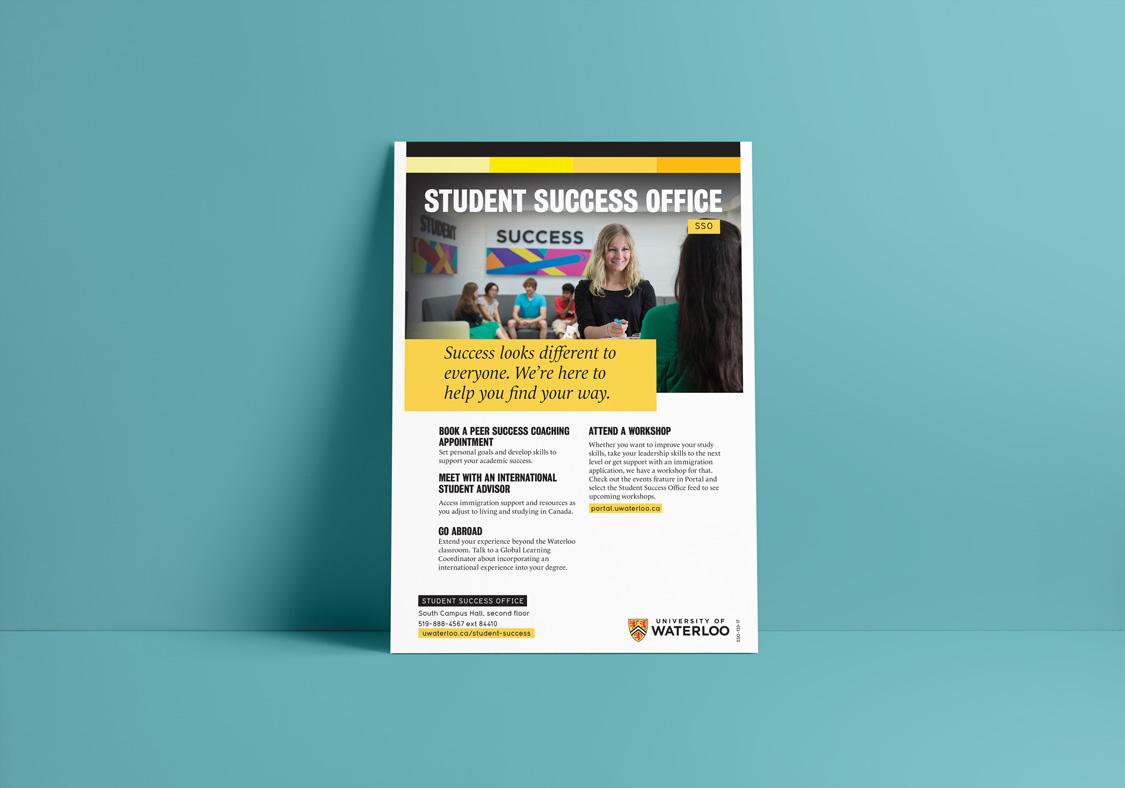 Student Success Office postcard
