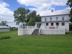 Farmhouse back porch
