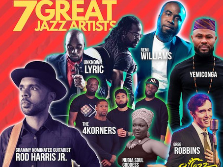 Check out our 2019 Jazz In The Alley Artists Lineup