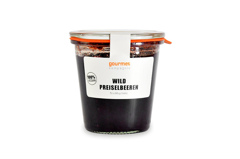 Wildpreiselbeeren 270g - SAISON - VEGAN -
