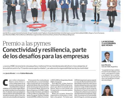 Premio a las pymes: conectividad y resiliencia, entre los desafíos empresariales