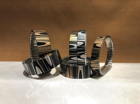Waves Lines Bracelets Collection by Urband London