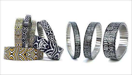 Circles Eclipse bracelets by Urband London
