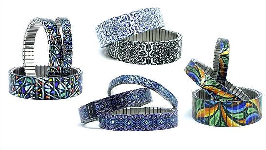 Mandala Daisies bracelets by Urband London