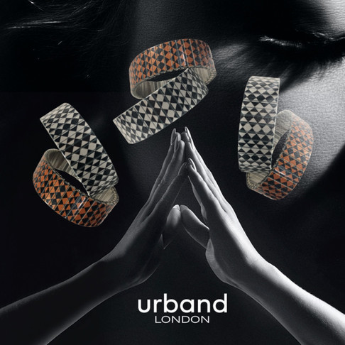 Checkes Simplicity bracelets by Urband London