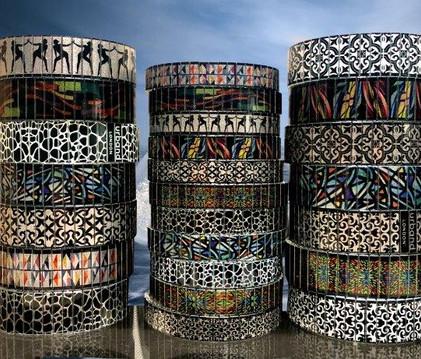 Art becomes bracelets by Urband London