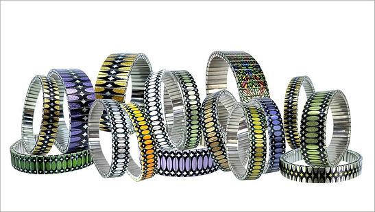 Ovals Stretched bracelets by Urband London