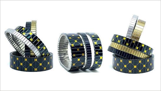 Squares Net bracelets by Urband London