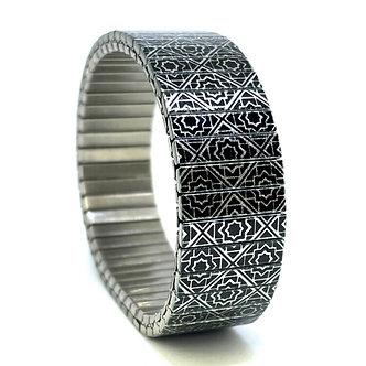Polygon Tiles 15S18 Metallic