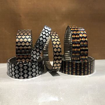 Checkers Orange bracelets by Urband London by Urband London
