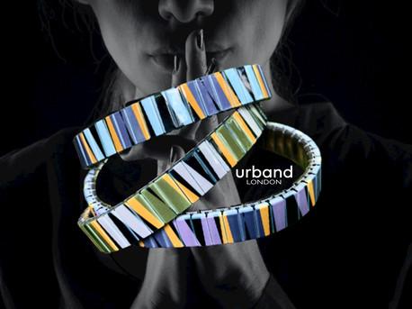 Lines Art bracelets by Urband London