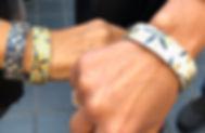 Urband London stainless steel bracelets