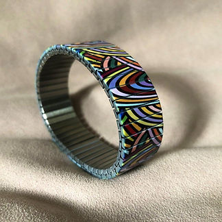 Limited Edition Waves Mosaic bracelet by Urband London