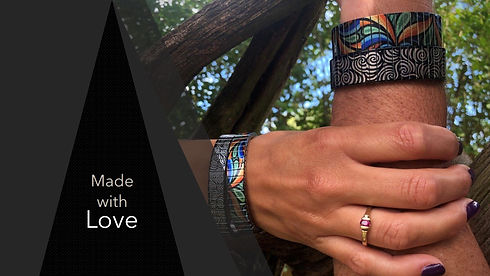 Urband London bracelets - Made with love