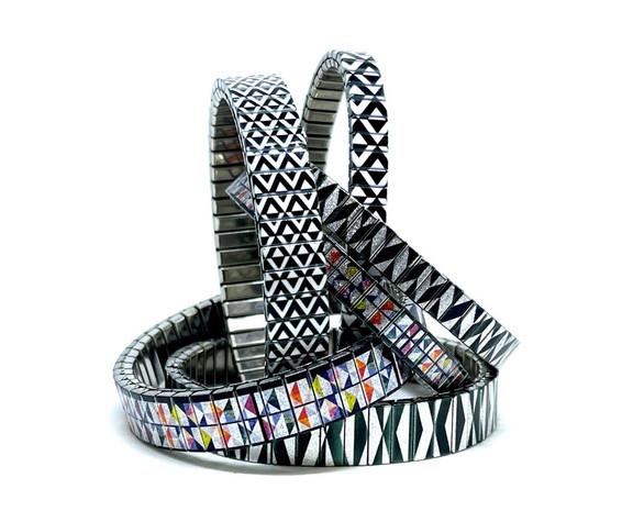 Triangles bracelets by Urband London