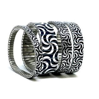 Circles Interwind bracelets by Urband London
