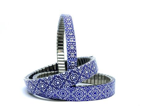 Stars Triangles bracelets