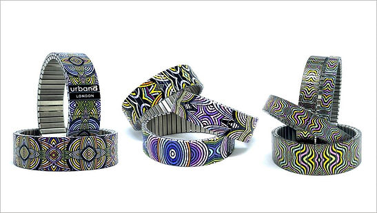 Mandala Irish bracelets by Urband London