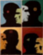 Raoul Sagal's Heads Painting