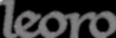Leoro Grey Transparent Logo.png