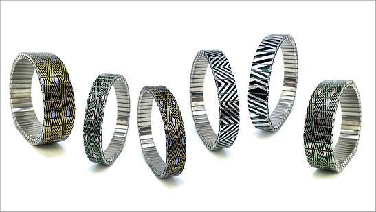 Lisbon Squares bracelets by Urband London