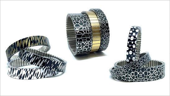 Spots bracelets by Urband London