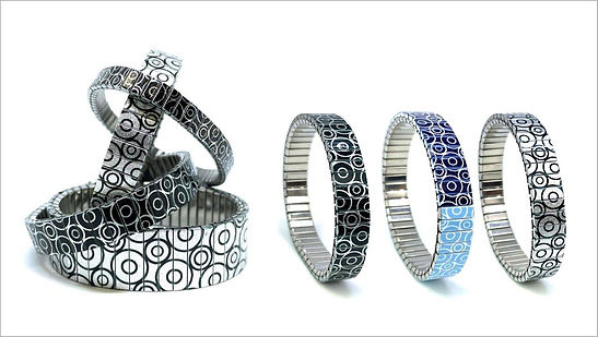 Circles Within bracelets by Urband London