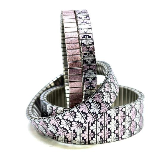 Checkers Kites + Solo  bracelets by Urband London